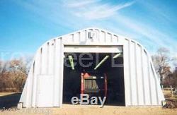 Bâtiment Durospan Acier 40x80x18 Métal Tracteur Agricole Batco Combine Stockage Sur