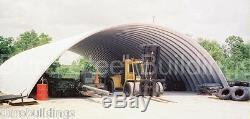 Bâtiment Durospan Acier Métal 51x100x17 Quonset Hut Ferme Kit Ouvert Ends Direct