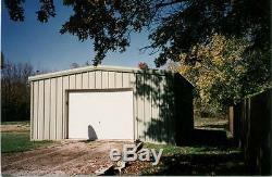Bâtiment En Acier 30x36x13 Simpson Magasin De Stockage Garage Bâtiment En Métal