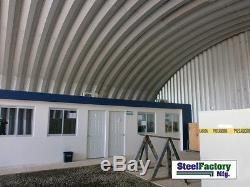 Bâtiment En Acier De Stockage En Métal De L'usine S45x50x17 Expédiée Usine Préfabriquée Directe