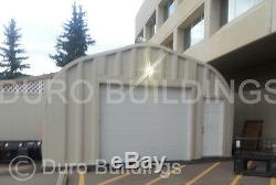 Bâtiment En Métal De Garage De Bricolage De L'acier 30x50x14 De Durospan Comme Vu À L'usine De Tv Direct
