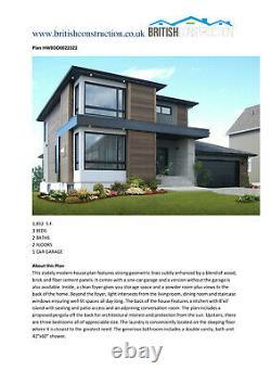 Bâtiment Modulaire, Maison Sectionnelle, Préfabriqué, Kit Home, Kit Auto-construction