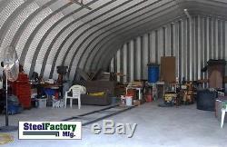 Conception De Lancement De Double Arc De Bâtiment De Garage De Stockage En Acier En Acier A40x100x16