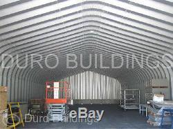 Construction De Garage De Bricolage En Acier Durospan En Acier 30x50x14, Vue À La Tv Factory Direct