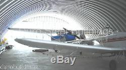 Construction Durospan Acier 50x70x17 Métal Kit De Bricolage Avion Hanger Ouvrir Termine Direct