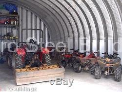 Construction Préfabriquée D'atelier De Garage De Bâtiment En Métal De L'acier Durospan 25x30x14