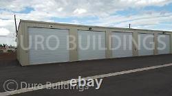 Duro Acier 90x168x16 Construction Métallique Prefab Rv Bateau Libre Entreposage Structure Direct