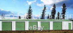 Duro Acier Mini Libre Entreposage 10x60x8.5 Structures Métalliques De Construction Prefab Directs