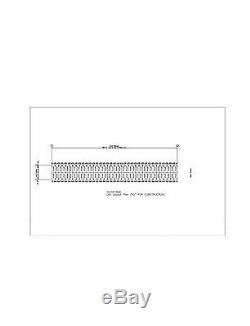 Duro Acier Prefab Mini Libre Entreposage 40x360x8.5 Structures De Construction Métalliques Directs
