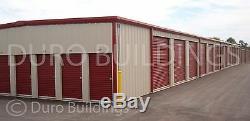 Duro Steel Mini Libre Entreposage Structures Métalliques 20x300x8.5 Prefab Direct Bâtiment