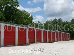 Duro Steel Mini Self Storage 30'x40'x8.5 Structures De Construction Préfabriquées Métalliques Direct