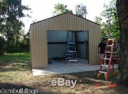 Durobeam Acier 25x48x12 Métal Résidentiel Garage Atelier Kit De Construction Direct