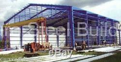 Durobeam Acier 30x50x16 Construction Métallique Shed Auto Lift Atelier Garage Kit Direct