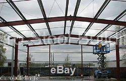Durobeam Acier 40x75x14 Bâtiments I-beam Metal Frame Auto Salvage Garages Direct