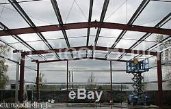 Durobeam Acier 50x84x12 Kit De Construction Métallique Span Garage Bricolage Effacer Atelier Direct