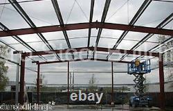 Durobeam Acier 60'x125'x14 Édifice En Métal Garage Transparent Sur Demande Direct