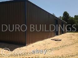 Durobeam Effacer Acier 100'x200'x17' Metal Span Building Boutique Made To Commande Rapide