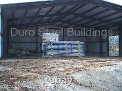 Durobeam Steel 100'x104'x22' Kits De Construction Transparent En Métal Fabriqués Pour Commander Direct