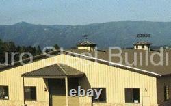 Durobeam Steel 100'x200'x19' Metal Prefab Made To Order Bricolage Construction Kits Direct