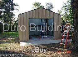 Durobeam Steel 25x40x16 Kit De Construction De Garage En Métal