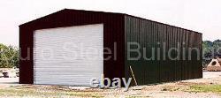 Durobeam Steel 25x48x12 Metal Residential Garage Workshop Kit De Construction Direct