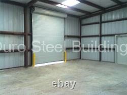 Durobeam Steel 28x36x16 Metal Prefab Garage Kit Storage Building Workshop Direct