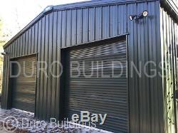Durobeam Steel 40x50x16 Metal Garage Annulé, Prêt À Être Expédié Kit De Construction Direct