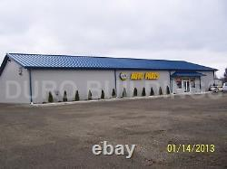 Durobeam Steel 50'x120'x16' Metal Building Auto Repair Shop Made To Order Direct