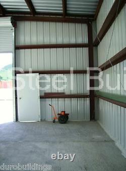 Durobeam Steel 50'x80'x12' Structures De Construction Métalliques Faites Pour Commander Kennel Direct