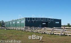 Durobeam Steel 50x84x12 Metal Garage Shop Structure De Bâtiment À Portée Libre Direct
