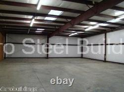 Durobeam Steel 60'x125'x14 Metal Building Commercial Garage Made To Order Direct