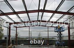 Durobeam Steel 60x125x16 Bâtiments Métalliques Clear Span Industrial Structures Direct
