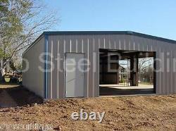 Durobeam Steel 75'x80'x17' Kit De Construction De Bricolage Métallique Fait Pour Commander Atelier Direct