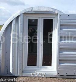 Durospan Acier 18x21x12 Bâtiment En Métal Bricolage Maison De Stockage Shed Open Ends Direct