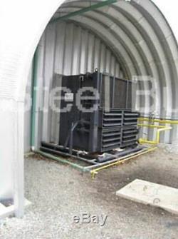 Durospan Acier 18x21x12 Construction Métallique Maison Stockage Hangar Se Termine Direct