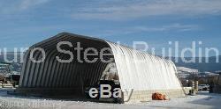Durospan Acier 20x20x12 Métal Garage Construction Kits Ouvert Pour Direct Sur Mesure Termine