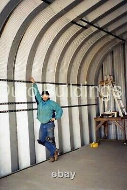 Durospan Acier 25'x24'x13' Bâtiment En Métal Bricolage Home Kits Open Ends Factory Direct