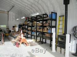Durospan Acier 30x34x14 Métal Atelier De Bricolage Kit De Construction Ouvert Se Termine À L'usine Direct