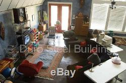 Durospan Acier 30x40x14 Kit De Construction De Maison En Brique Quonset Hut En Métal, Extrémités Ouvertes Direct