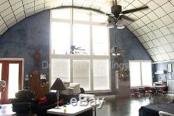 Durospan Acier 30x40x14 Métal Bricolage Quonset Hut Home Building Kit Extrémités Ouvertes Direct