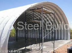 Durospan Acier 40x60x14 Métal Quonset Shop Ag Bâtiment Ouvert Extrémités Usine Direct