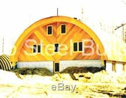 Durospan Acier 42x35x17 Métal Quonset Hut Kits Bâtiment Ouvert Ends Usine Direct