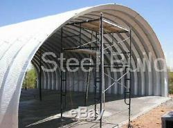 Durospan Acier 42x72x17 Métal Quonset Grange Ferme Kit De Construction Bricolage Usine Direct
