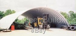 Durospan Acier 42x74x17 Kit De Construction De Maison De Grange En Métal Quonset, Extrémités Ouvertes Direct