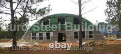 Durospan Acier 55x26x19 Métal Quonset Bricolage Maison Kits De Construction À Bouts Ouverts Direct
