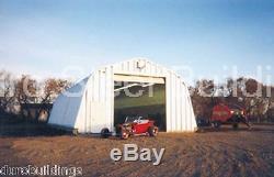 Durospan Acier A20'x30'x12 Métal Garage Atelier Bricolage Kit De Construction D'usine Direct