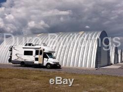 Durospan Acier Bâtiment 25x25x12 En Métal, Bricolage, Maison, Hangar À Extrémités Ouvertes, Usine Direct