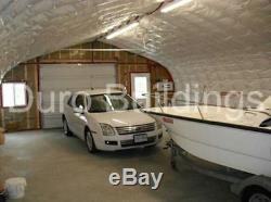 Durospan Acier Kit De Construction De Garage En Métal 20x35x16 À Extrémité Ouverte Usine Vente Directe