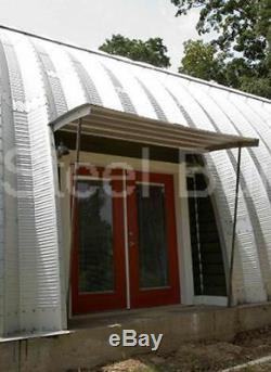 Durospan Acier Kit De Construction De Maison Bricolage Quonset En Métal 40x32x20 Ouvert Aux Extrémités Direct