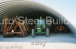 Durospan Acier Kit De Construction En Arc De Quonset En Métal 20x20x10 Usine D'extrémités Ouvertes Usine Direct